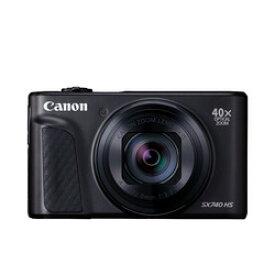 キヤノン デジタルカメラ PowerShot SX740 HS(BK) PSSX740HS(BK)(2955C004) 取り寄せ商品