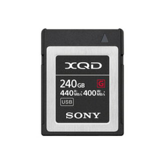 Sony XQD memory card G series 240GB QD-G240F order product