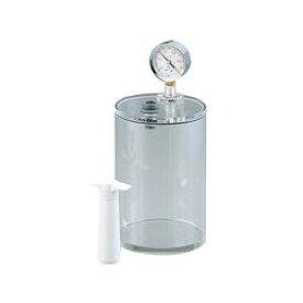 アズワン ミニ真空容器 φ150×223mm (1個)(VCP-30L) 目安在庫=△