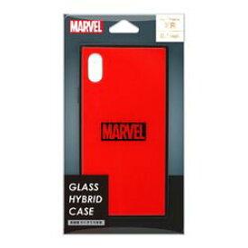 PGA iPhone XR用 ガラスハイブリッドケース ロゴ/レッド(PG-DCS622RD) 取り寄せ商品