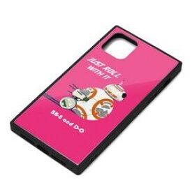 PGA iPhone 11 Pro Max用 ガラスハイブリッドケース [BB-8](PG-DGT19C33BB) 取り寄せ商品