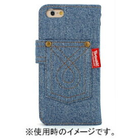 FANTASTICK Diary Denim (Bleach) for iPhone 6/6s I6S06-15D632-14 取り寄せ商品