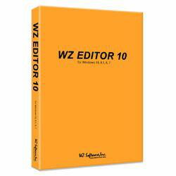 WZソフトウェア WZ EDITOR 10 CD-ROM版(対応OS:その他)(WZ-10) 目安在庫=△