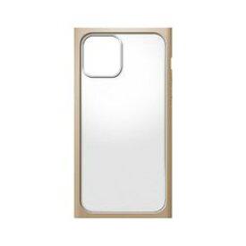 PGA iPhone 12 mini用 ガラスタフケース スクエアタイプ ベージュ(PG-20FGT07BE) 取り寄せ商品