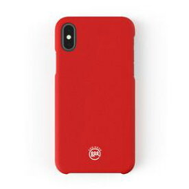 AndMesh Basic Case for iPhone XS/X Red AMBSX000-RED 取り寄せ商品