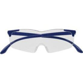 キングジム AM40ネイ メガネ型拡大鏡(無地) ネイビー 取り寄せ商品