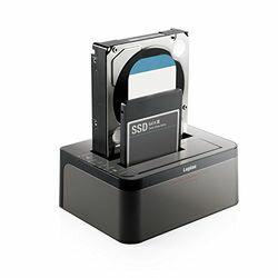 ロジテック(エレコム) HDDケース/3.5インチHDD&2.5インチHDD+SSD/2Bay/USB3.0/ソフト付(LGB-2BDPU3ES) メーカー在庫品