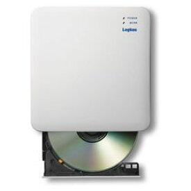 ロジテック(エレコム) WiFi対応CD録音ドライブ/2.4GHz/iOS_Android対応/USB3.0/ホワイト(LDR-PS24GWU3RWH) メーカー在庫品
