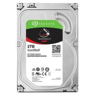 3.5 inches of Seagate Guardian IronWolf series built-in HDD 2TB SATA 6.0Gb/s 5900rpm 64MB (ST2000VN004) order product