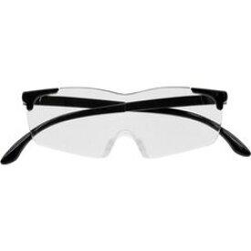キングジム AM40クロ メガネ型拡大鏡(無地) 黒 取り寄せ商品