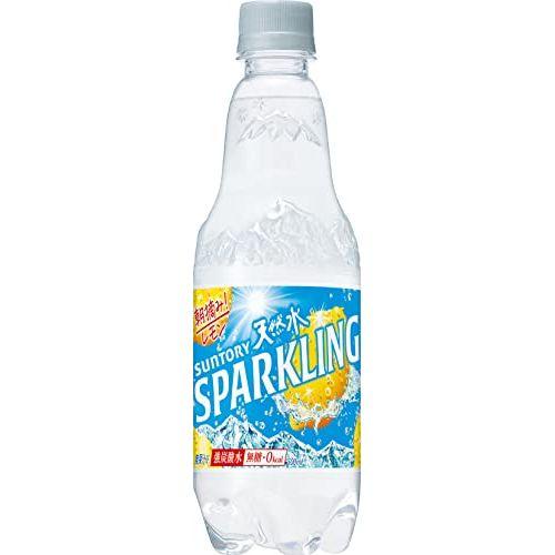 サントリー 南アルプスの天然水スパークリングレモンP 500ml×24本(03842054) 目安在庫=○