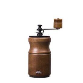 KALITA (カリタ) 硬質鋳鉄カッター コーヒーミル KH−10 BR(ブラウン)(コーヒーミルKH-10BR) 取り寄せ商品