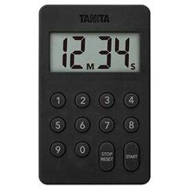 タニタ デジタルタイマー 100分計 ブラック(TD-415-BK) 取り寄せ商品