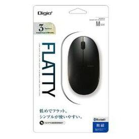 Digio 2 Bluetooth マウス 3ボタンBlue LED ブラック MUS-BKT154BK 取り寄せ商品