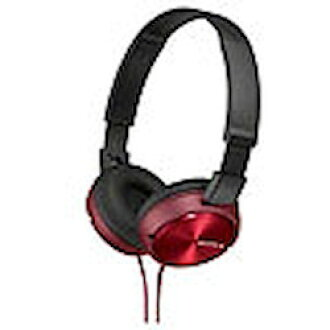 Sony stereo headphones red MDR-ZX310/R order product