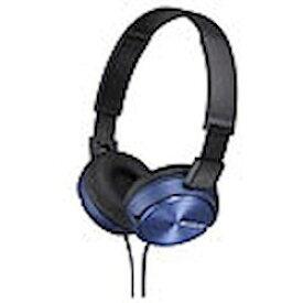 ソニー ステレオヘッドホン ブルー MDR-ZX310/L 取り寄せ商品