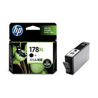 純正的物品HP HP178XL墨盒黑纖細增加分量CN684HJ(CN684HJ)大致目標庫存=○