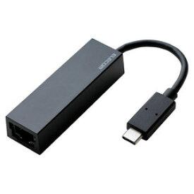 エレコム 有線LANアダプタ/Giga対応/USB3.1/Type-C/ブラック EDC-GUC3-B メーカー在庫品