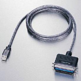【P5E】エレコム UC-PGT USB to パラレルプリンタケーブル(UC-PGT) 目安在庫=△