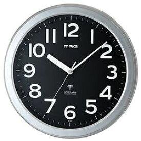 ノア MAG(マグ) 置き時計・掛け時計 シルバー 312×312×48mm W-705 SM-Z(W-705SM-Z) 取り寄せ商品