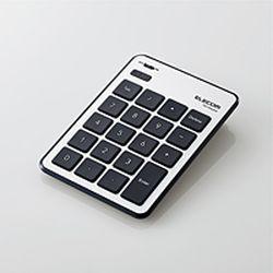 エレコム Bluetoothテンキーパッド/パンタグラフ/MacOS対応/薄型/シルバー(TK-TBPM01SV) メーカー在庫品