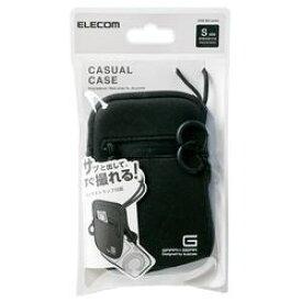 【P10E】エレコム デジカメケース/ネオプレン/Sサイズ/ブラック DGB-063BK(DGB-063BK) メーカー在庫品