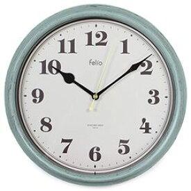 ノア ferlio 置き時計・掛け時計 グリーン 28.0×28.0×5.0cm FEW183GR(FEW183-GR) 取り寄せ商品