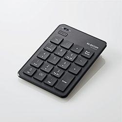 【P10E】エレコム Bluetoothテンキーパッド/パンタグラフ/薄型/ブラック TK-TBP020BK(TK-TBP020BK) メーカー在庫品
