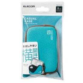 【P10E】エレコム デジカメケース/ネオプレン/Sサイズ/ストラップ無し/ブルー(DGB-065BUL) メーカー在庫品