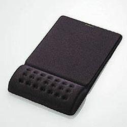 エレコム COMFY マウスパッド ブラック MP-095BK メーカー在庫品[メール便対象商品]
