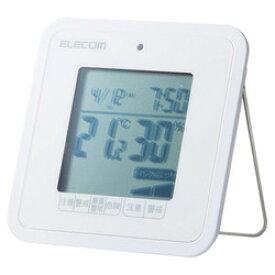 エレコム 温湿度警告計/熱中・ウイルス/コンパクト/ホワイト(OND-03WH) メーカー在庫品