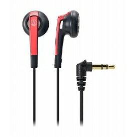 オーディオテクニカ インナーイヤーヘッドホン/レッド ATH-C505 RD メーカー在庫品