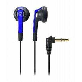 オーディオテクニカ インナーイヤーヘッドホン/ブルー ATH-C505 BL メーカー在庫品