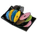 【P10S】サンワサプライ DVDトールケース(12枚収納) ブラック 1枚セット DVD-TW12-01BK(DVD-TW12-01BK) メーカー在庫品