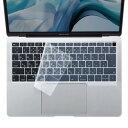 サンワサプライ MacBook Air 13.3インチ 用シリコンキーボードカバー(クリア)(FA-SMACBA13R) メーカー在庫品