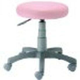 Digio 2 ラウンドチェア (抗菌PVCレザー張り) ピンク RZR-103P 取り寄せ商品