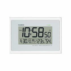 カシオ計算機 電波掛け時計デジタル ホワイト IDL-100J-7JF メーカー在庫品