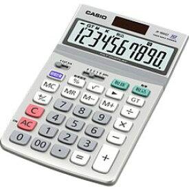 カシオ計算機 カシオ 電卓 10桁 ジャストタイプ グリーン購入法適合 JF-100GT-N メーカー在庫品