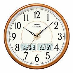 カシオ計算機 電波掛け時計アナログ パールブラウン ITM-200J-5JF メーカー在庫品