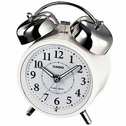 カシオ計算機 電波置き時計アナログ ホワイト TQ-720J-7JF メーカー在庫品