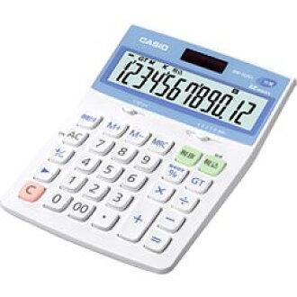 카시오 계산기 카시오 계산기 12 자리수 데스크 타입 항균 계산기 DW-122 CL-N메이커 재고품