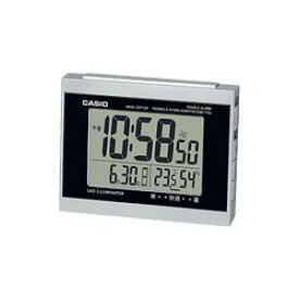 カシオ計算機 電波置時計デジタル シルバー DQD-710J-8JF メーカー在庫品
