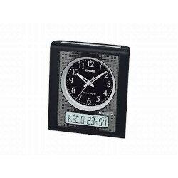 カシオ計算機 電波置き時計アナログデジタル ブラック TQT-351NJ-1JF メーカー在庫品