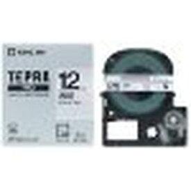 キングジム ST12K PROテープ 透明ラベル黒文字 12mm 目安在庫=○