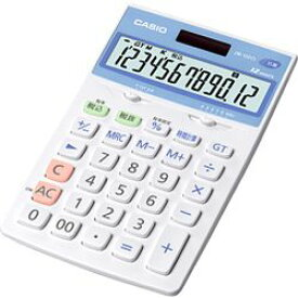 カシオ計算機 カシオ 電卓 12桁 ジャストタイプ 抗菌電卓 JW-122CL-N メーカー在庫品