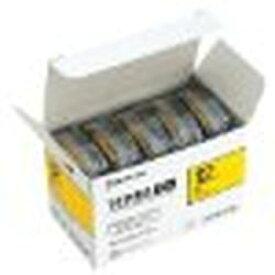 キングジム SC12Y-5P PROテープエコパック 黄ラベル黒文字 5個入 目安在庫=○