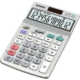 カシオ計算機 カシオ 電卓 12桁 ジャストタイプ グリーン購入法適合 JF-120GT-N 目安在庫=○