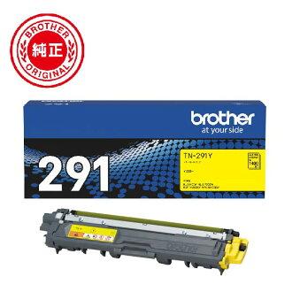 Brother toner cartridge yellow TN-291Y indication stock =○