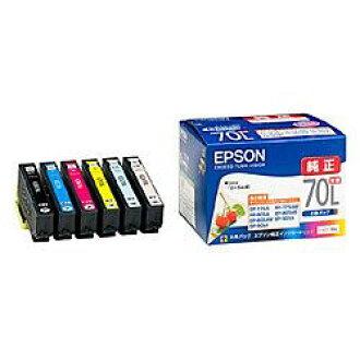 供純正的物品EPSON(愛普生)IC6CL70L karariopurinta使用的墨盒(增加分量6色包)(IC6CL70L)大致目標庫存=○