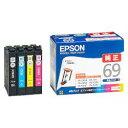 純正品 EPSON (エプソン) IC4CL69 ビジネスインクジェット用 インクカートリッジ(4色パック) (IC4CL69) 目安在庫=○ ランキングお取り寄せ